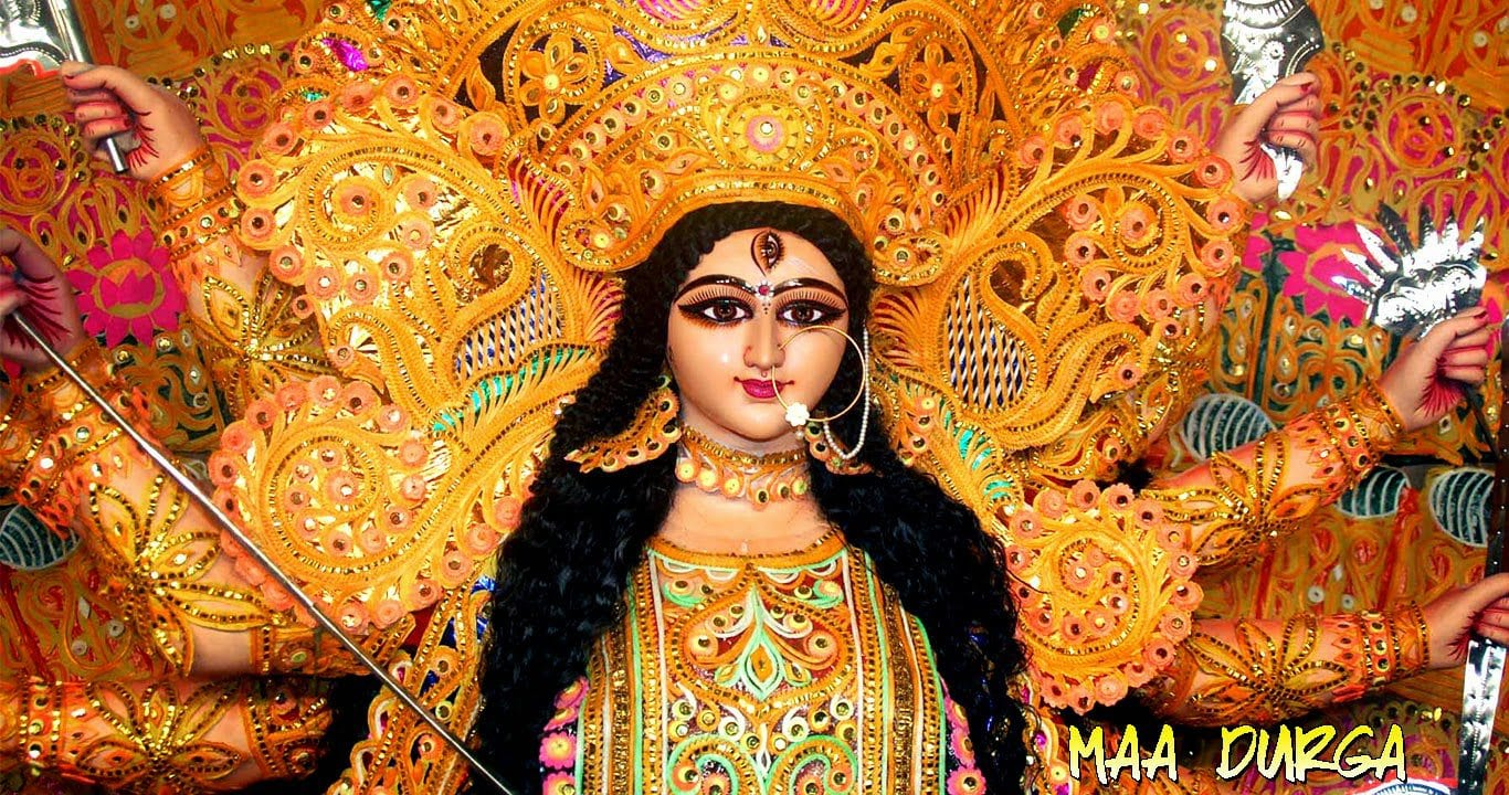 durga navratri 2015 wishes hd wallpaper
