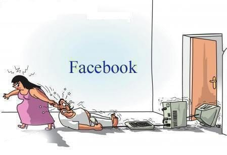 Facebook addiction wife husband