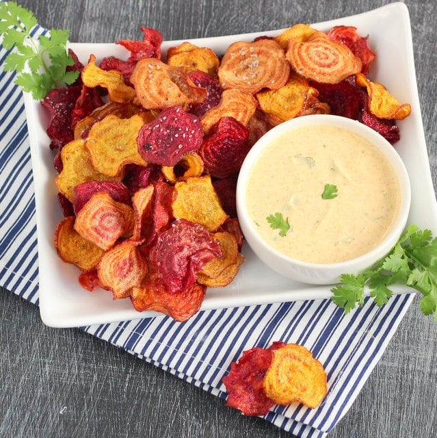 Beet chips 037