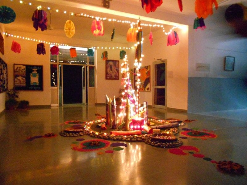 Good Diwali Decorations In Home Part - 12: IndiaBright