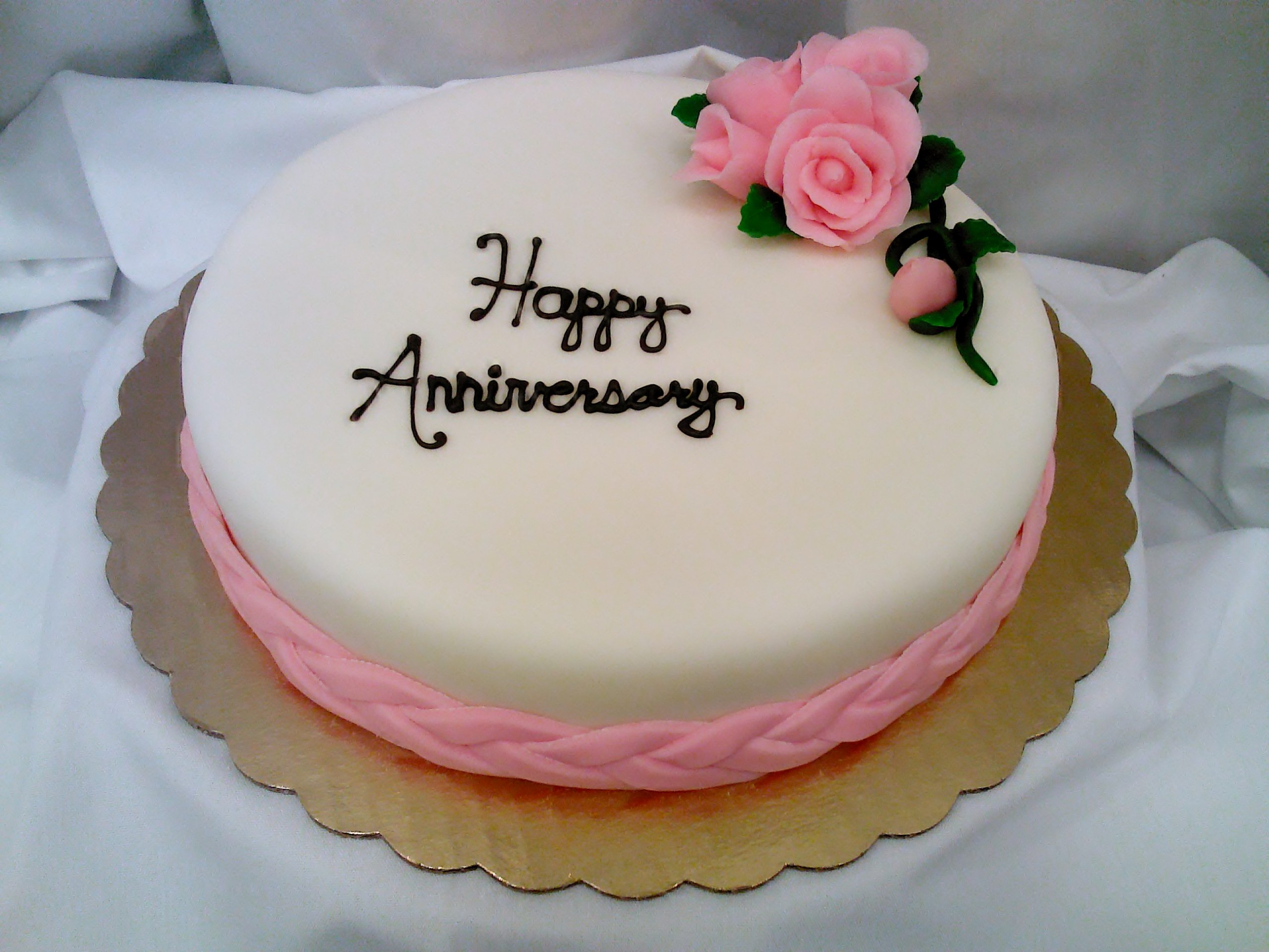 Cake pictures cake pics cake wallpaper for Anniversary cake decoration