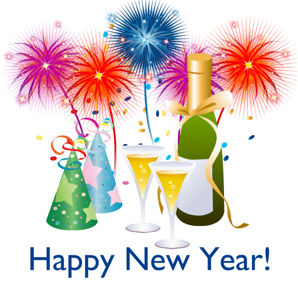 Happy new year 2016 clip art