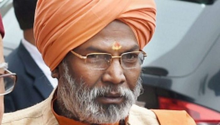 Sakshi Maharaj: Congress without power is like fish without water