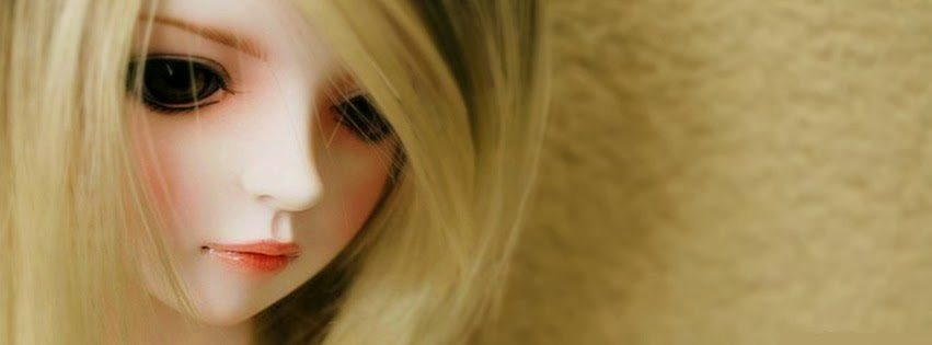 Cute Dolls HD Facebook timeline covers cute alone doll