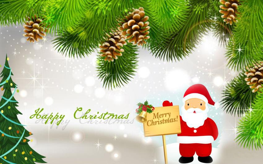 Merry-Christmas-Greeting-Cards-Santa-Claus-with-Christmas-Tree