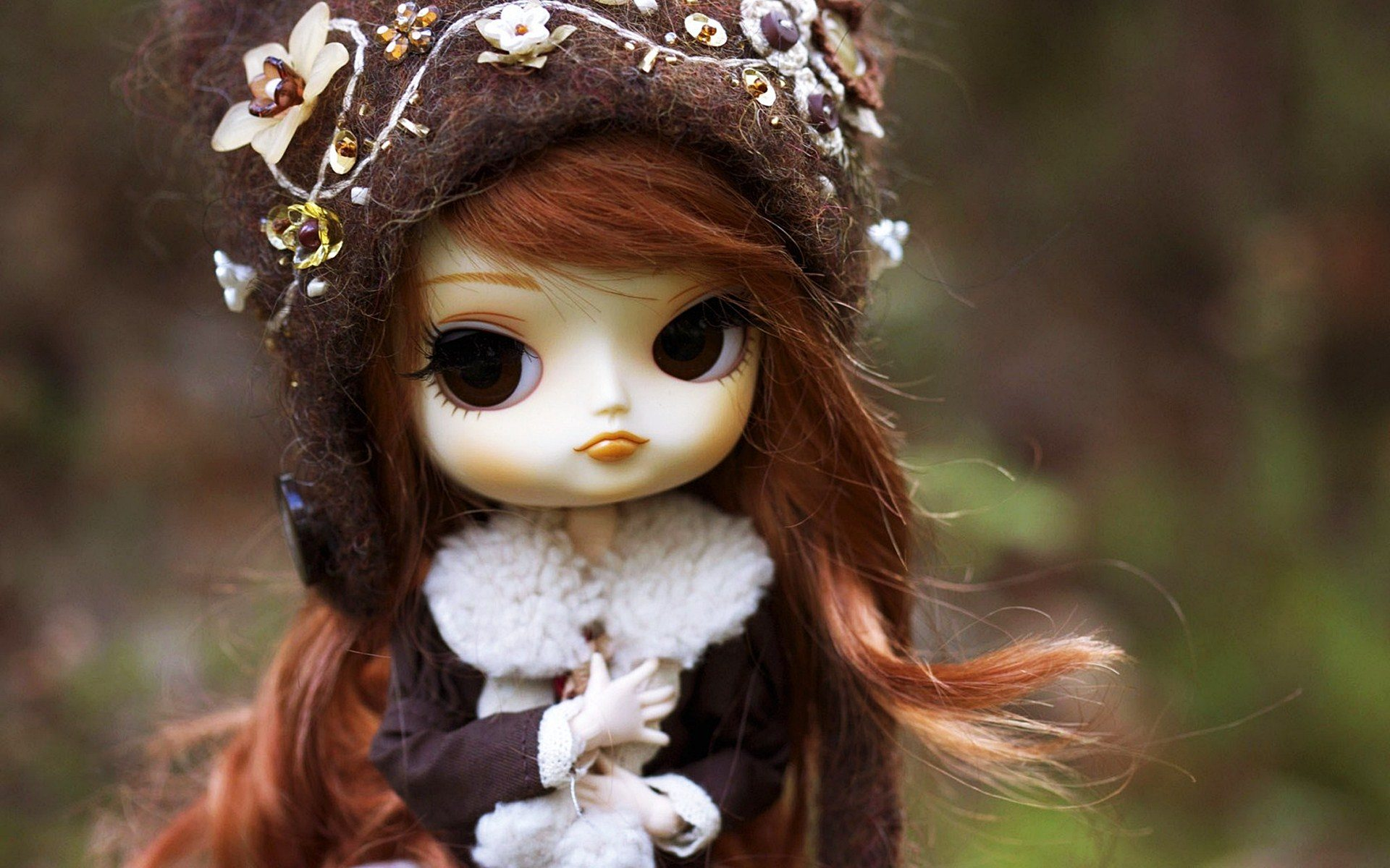 Redhead Frozen Doll Toy HD Wallpaper