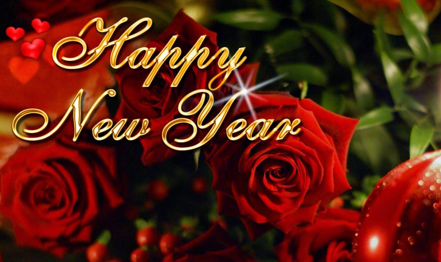 happy-new-year-wish-in-red-flower
