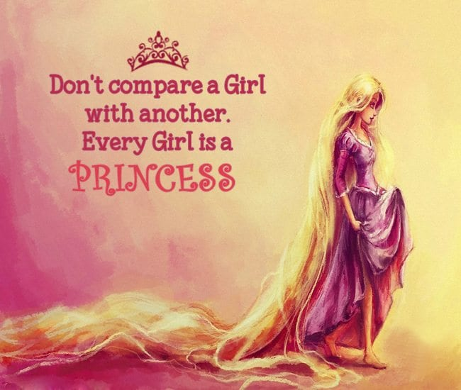 Cute-Every-Girl-Princess-Quotes-FB-Profile-Picture