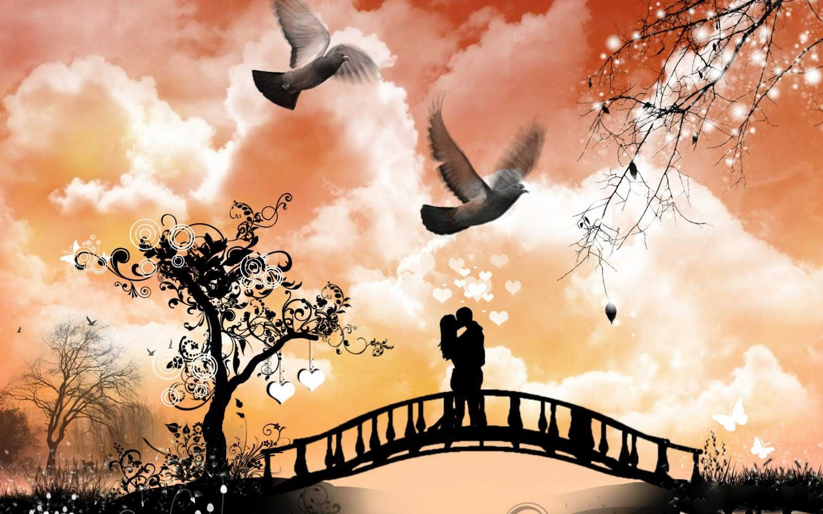 Love-couple-kiss-photo-wallpapers