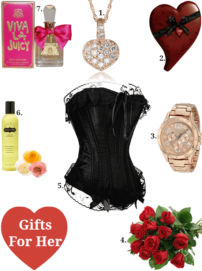Valentine 39 s day gifts Top ten valentine gifts for her