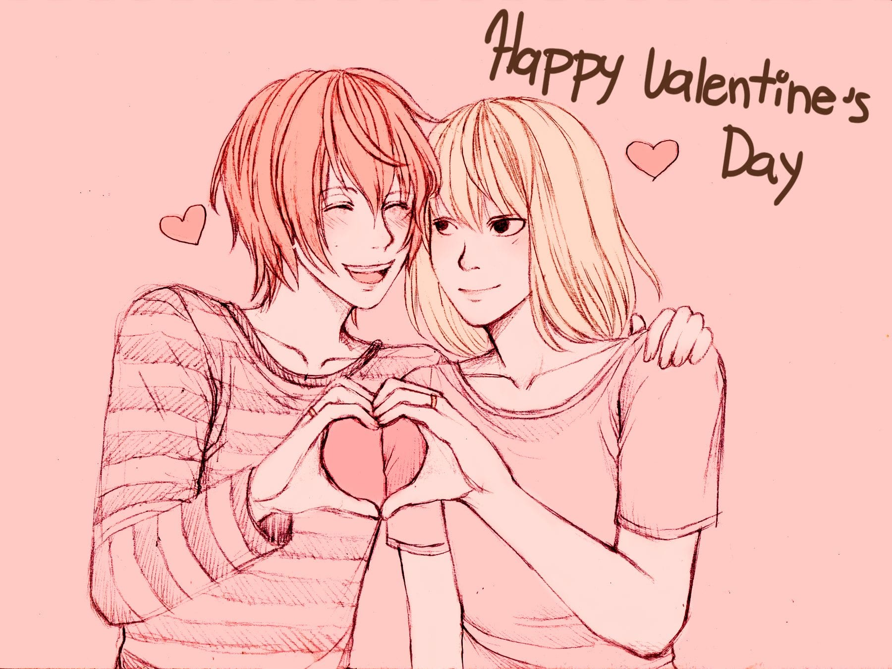 happy-valentines-day-hd-wallpapers-free-download-romantic-couple-in-the-pink